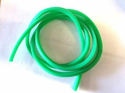 GOLIATH Green 5 MM Square catapult elastic replacement rubber bands slingshot 1m