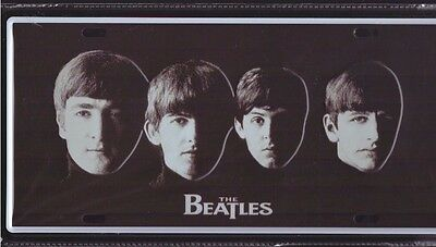 High Quality Reproduction Metal Sign Number Plate The Beatles POP