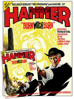 """House of Hammer #7 cover poster - 19"""" x 26"""" and totally crease free!"""