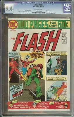 Flash #229 Cgc 9.4 Ow Pages