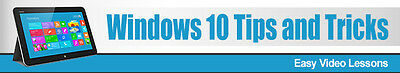 Windows 10 Tips And Tricks- Videos on 1 CD