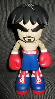 "2015 MANNY PACQUIAO 7"" FIGURE BLUE RED MINDSTYLE new released signed"