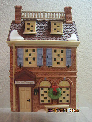 Dept 56 - Disney Lot 2: Olde World Antiques Shops