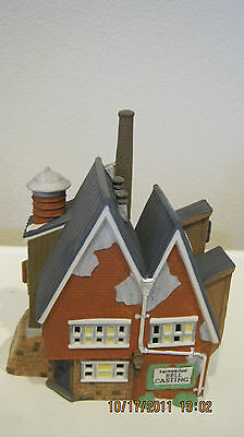Dept 56-New England Lot 3: Yankee Jud Bell + Stoney Brook Town Hall + Market Day