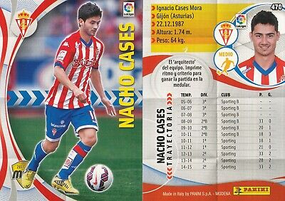 470 Nacho Cases Espana Sporting Gijon Card Megacracks 2016 Panini