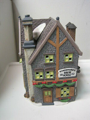 Dept 56 - Dickens Lot 2: Kingsford's Brew House - Hather Harness