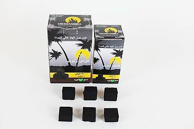 90 Pcs Coco Zanobia Charcoal Natural Coconut Hookah Shisha Coal  NEW