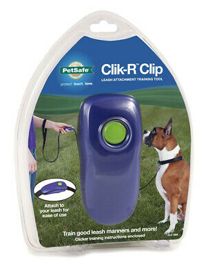 PetSafe Clik-R Clip Dog Training Leash Attachment Tool FREE US SHIPPING