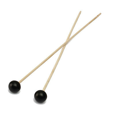 1 Pair Rubber Head Sticks Beaters Mallets Replacement for Glockenspiel Xylophone