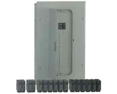 GE 100-Amp 20-Circuit Flush/Surface Wall Main-Breaker-Box Load Electrical Panel