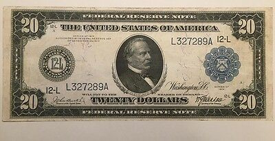 Reproduction Copy $20 Federal Reserve Note 1914 Grover Cleveland, San Francisco
