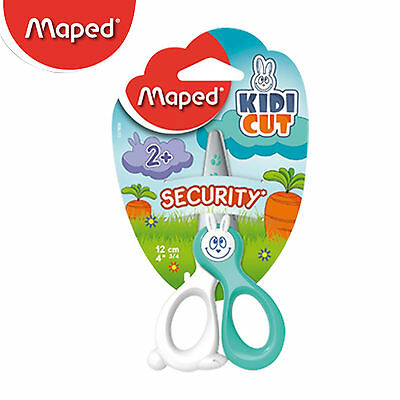 Mapad KIDI CUT, Scissors For Kids Completely Safe Cutting Out,Green