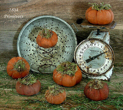 Primitive Grungy Olde Pumpkin PATTERN -:¦:-  Fast and Easy