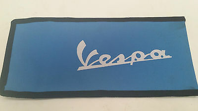 Vespa Blue Handy Tool Kit Woven Pouch New