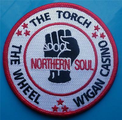 Northern Soul Patch - The Torch - The Wheel - Wigan Casino