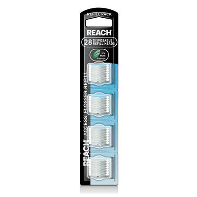 NEW Reach Floss Daily er Cleanpaste For Deep Clean Refill Pack Icy Mint Flavour