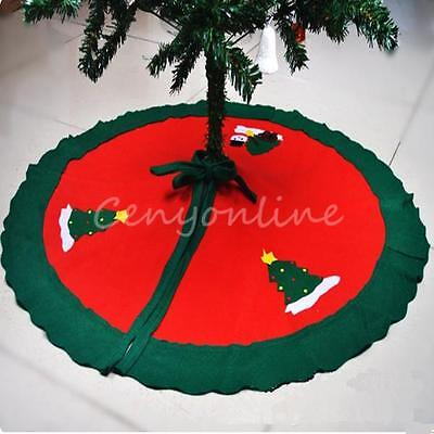 Nonwovens Christmas Tree Skirt Snowman Christmas Decoration Holiday Supply