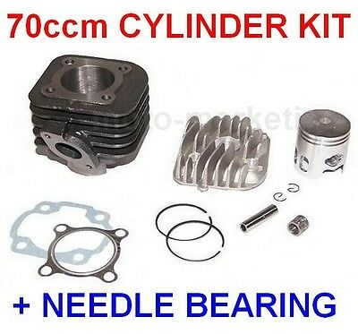 BIG BORE 70 cc CYLINDER HEAD KIT NEEDLE BEARING for CPI HUSSAR post 2003 50