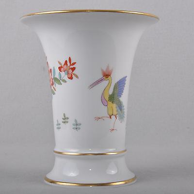 Meissen Chinese Dragon And Stork Vase / Flower Vase, 1st Choice