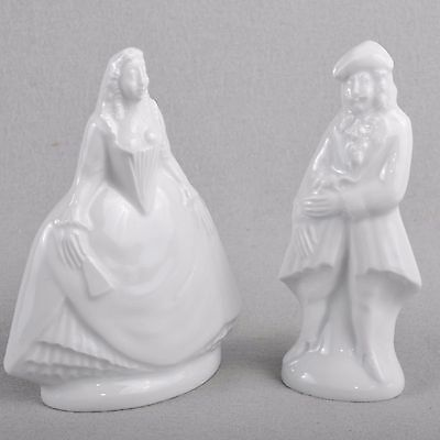 Meissen Figur / Couple figure Kavalier und Lady, white, First Quality
