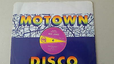 "Rick James ""Cold Blooded"" 12"" vinyl Motown"