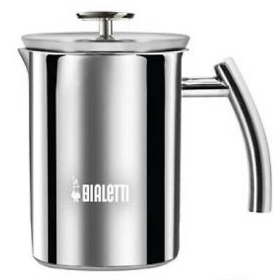 Bialetti Cappuccinatore - Manual Milk Frother - 3 Cup - Stainless Steel