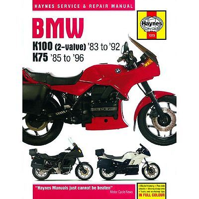 Workshop Manual BMW K75, K100 1983-1996