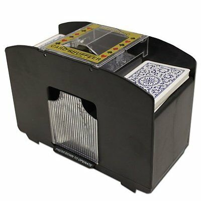 Free Shipping Deck Card Shuffler Brybelly Automatic New Casino 6 Deluxe 4 Poker