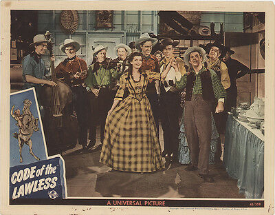 Code of the Lawless 1945 Original Movie Poster Western