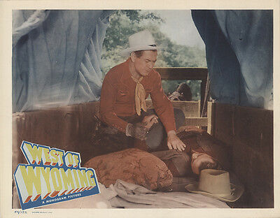 West of Wyoming 1950 Original Movie Poster Action Western