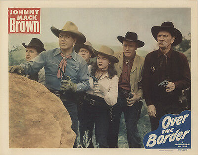 Over the Border 1950 Original Movie Poster Western