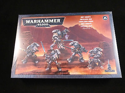40K Grey Knights Squad in Power Armour Sealed Boxed Set