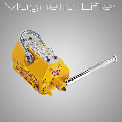 Heavy Duty 300kg/660lb  Magnetic Lifter Steel Lifting Magnet  Hoist Crane
