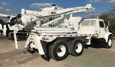 Altec pressure digger Drill Rig truck auger drilling pier pile hole bore