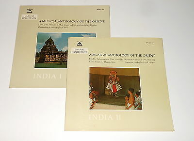 Unesco Collection - Musical Anthology Of The Orient - INDIA I & II - Danielou