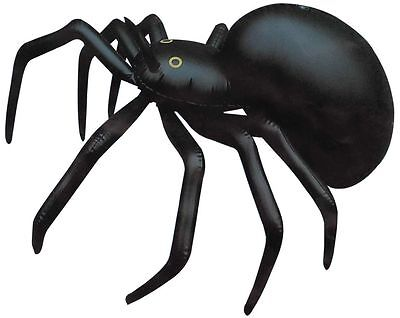 Inflatable Spider - 91cm - Blow Up Toy Loot/Party Bag Jungle