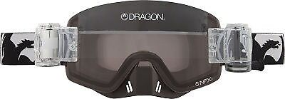 NFXS Goggles DRAGON BLACK W/CLEAR RAPID ROLL LENS 722-1731