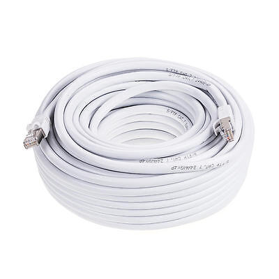 75FT White High Quality Cat 7 (S/STP) Ethernet cable Network Cable