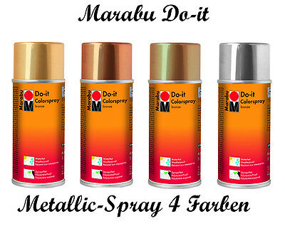 Marabu Do-it Metallic Spray 150ml (1000ml=49,27€)
