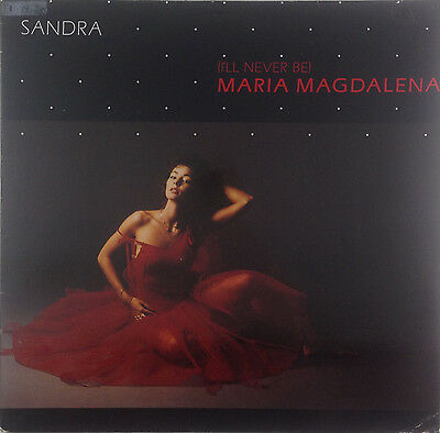 "12"" Maxi - Sandra - (I'll Never Be) Maria Magdalena - k2934 - washed & cleaned"