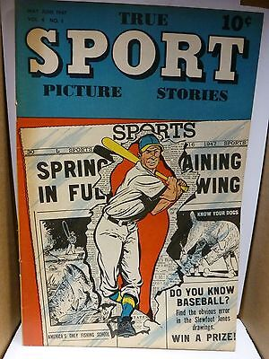 True Sport Picture Stories #Vol. 4#1, 5/1947, Street and Smith. Jack Dempsey. F+