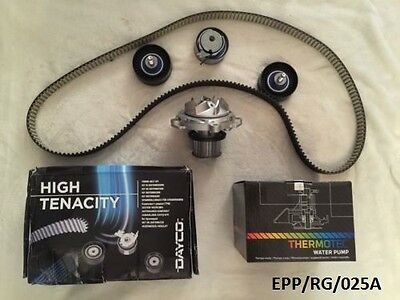 Timing Belt KIT & Water Pump Chrysler Voyager 2.5& 2.8CRD 2001-2007 EPP/RG/025A