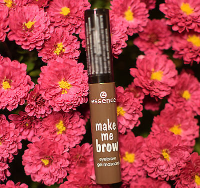 ESSENCE make me brow eyebrow gel mascara beautifully defined and full eyebrows