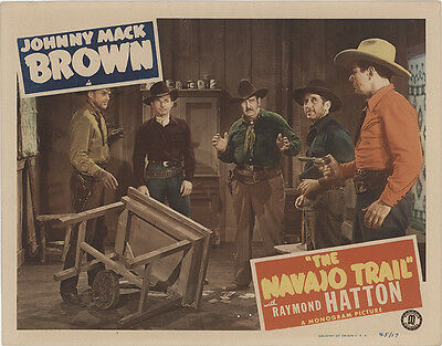The Navajo Trail 1945 Original Movie Poster Western