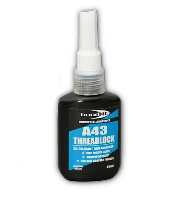 A43 Threadlock 25ml- Blue