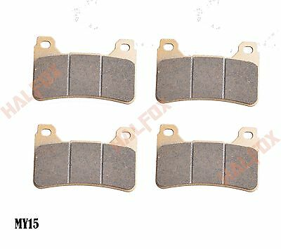 Front brake disc pads for Honda CBR600RR 05-12 CBR1000RR 04-12 CB1000R 08-12