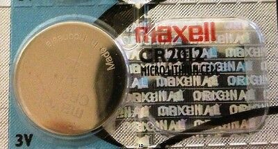 CR 2012 MAXELL LITHIUM BATTERIES 3V Watch 2012 New Authorized Seller