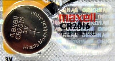 CR 2016 MAXELL LITHIUM BATTERIES 3V Watch 2016 New Authorized Seller