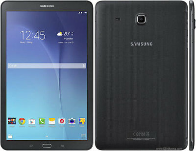 "SEALED BRAND NEW SAMSUNG GALAXY TAB E SM T561 8GB Wi-Fi + 3G 9.6"" BLACK ANDROID"