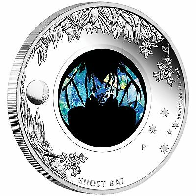 Australian Opal Series Ghost Bat 2015 1oz Silver Proof $1 Coin Australia